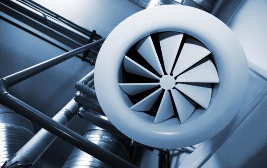 ventilator met afstandsbediening